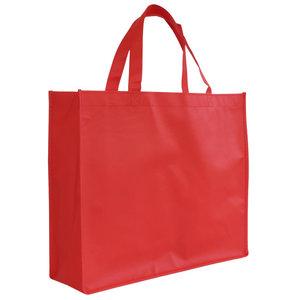Shopper Rood non woven 42x12x35cm