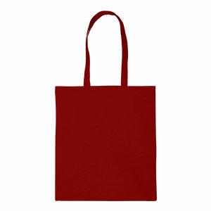 Levering uit voorraad 1x katoenen tas Rood