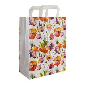 """Levering uit voorraad 50x papieren tassen """"Fiorina"""" 22x10x28cm"""