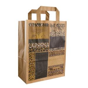 "50x papieren tassen ""Afrika"" 22x10x28cm"