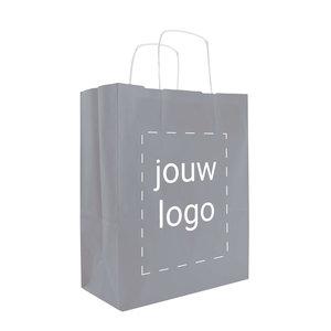 Papieren tassen A4 Grijs met 1 of 2 kleuren bedrukt