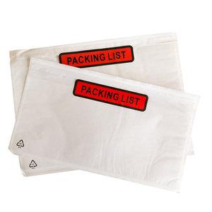 "Paklijstenveloppen ""Packing List"" verpakt per 1000 stuks"