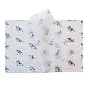 Levertijd ca. 4 weken Vloeipapier bedrukken 60x100cm 22 grams 1 kleur bedrukt
