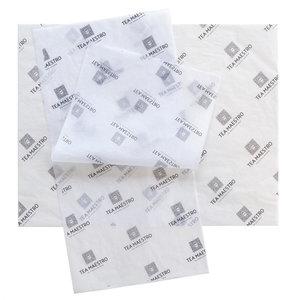 Levertijd ca. 4 weken Vloeipapier bedrukken 50x70cm 22 grams 1 kleur bedrukt