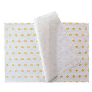 Levertijd ca. 4 weken Vloeipapier 50x70cm 30 grams 1 kleur bedrukt