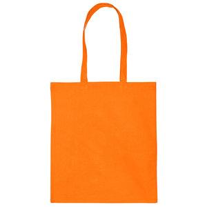 Levertijd ca. 3 werkdagen Katoenen tas Oranje 38x42cm