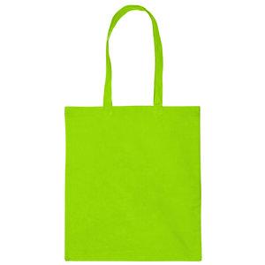 Levertijd ca. 3 werkdagen Katoenen tas Lime Groen 38x42cm