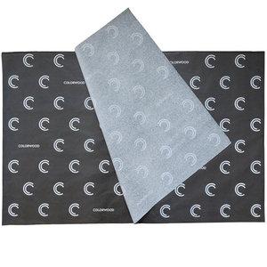 Zwart vloeipapier bedrukken Wit 50x70cm 17 grams