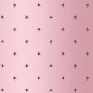 Levertijd ca. 3 werkdagen Inpakpapier Roze takje 30cm x 100mtr