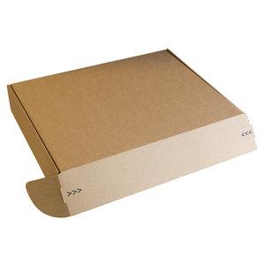 1x1 Postdoos bruin/ bruin + plakstrip 420x370x120mm
