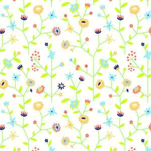 Levertijd ca. 3 werkdagen Inpakpapier Graspapier Bloemen 50cm x 200mtr