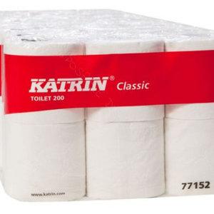 Toiletpapier Katrin 2-laags 200 vel (48 rol)