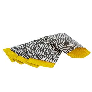 200x papieren zakjes Zebra 7x13cm