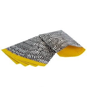 200x papieren zakjes Zebra 12x19cm