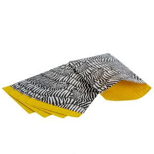 Levering uit voorraad 200x papieren zakjes Zebra 12x19cm