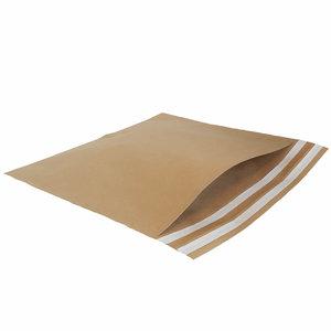 Levering uit voorraad 50x papieren verzendzakken Large