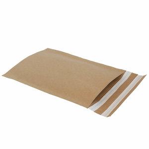 Levering uit voorraad 50x papieren verzendzakken small