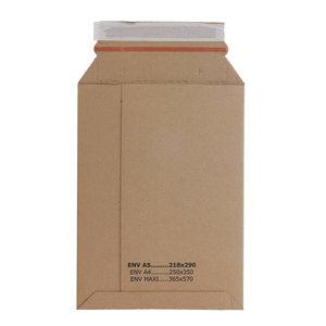 Levering uit voorraad 50x kartonnen enveloppen Maxi
