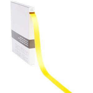 Lint Satijn geel op rol 15mm x 100m