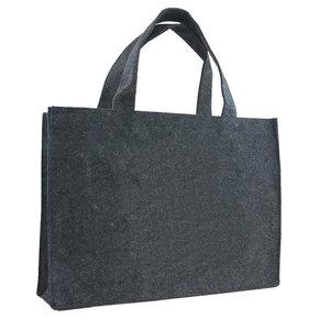 Levering uit voorraad Vilten tas grijs
