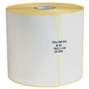 Levering uit voorraad 500x Zebra labels 100x150mm
