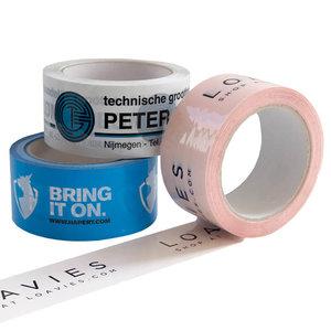 Levertijd ca. 10 weken PP Acryl tape 2 kleuren bedrukt