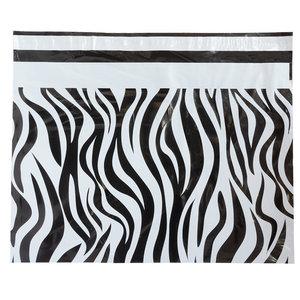 Levering uit voorraad 100x verzendzakken Zebra Large Liggend