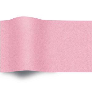 Levering uit voorraad Vloeipapier 50x70cm licht roze