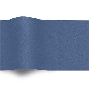 Levering uit voorraad Vloeipapier 50x70cm donkerblauw