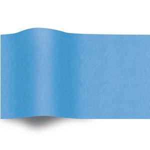 Levering uit voorraad Vloeipapier 50x70cm turquoise