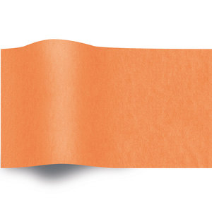 Levering uit voorraad Zijdepapier gekleurd 50x70 cm oranje