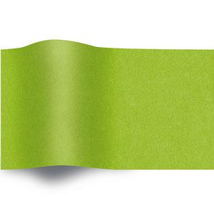 Levering uit voorraad Zijde vloeipapier gekleurd 50x70cm lime groen