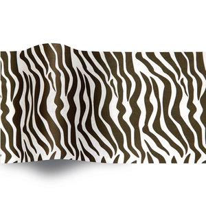 Levering uit voorraad Vloeipapier 50x76cm Zebra print