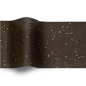 Levering uit voorraad Vloeipapier 50x76cm Gemstone zwart