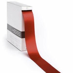 Levering uit voorraad Lint satijn Rood XL (40mm x100m)
