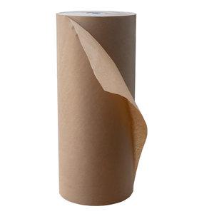 Levering uit voorraad Kraft papier bruin 30cmx350m