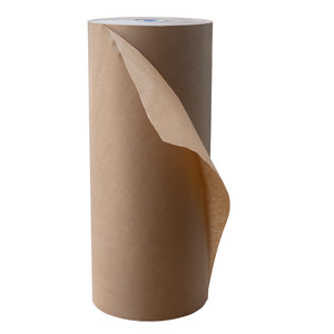 Levering uit voorraad Kraft papier bruin 100cmx275m - 90 grams