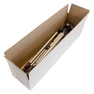 Levering uit voorraad Langwerpige witte dozen enkelgolf 620x150x150mm
