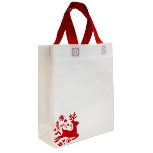 Levering uit voorraad Shopper Kerst Rudolph SMALL