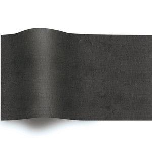 Levering uit voorraad Vloeipapier 50x70cm zwart