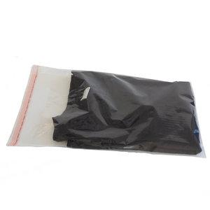 Levering uit voorraad 100x kledingzakken transparant L