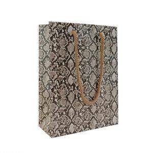 Levering uit voorraad 10x luxe papieren tasjes Snake A5