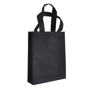 Levering uit voorraad 10x vilten tas Zwart A4