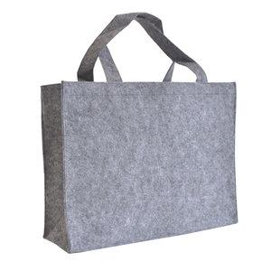 Levering uit voorraad 10x vilten tas Licht grijs A3
