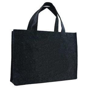 Levering uit voorraad 10x vilten tas Zwart A3