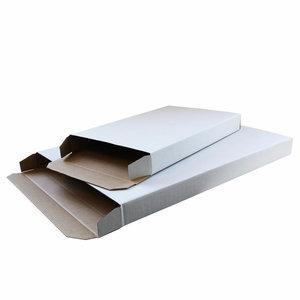 Levering uit voorraad 30x brievenbusdoos zijlader Wit A4