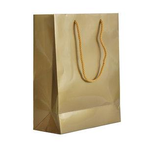 Levering uit voorraad 10x cadeautasjes Goud A4