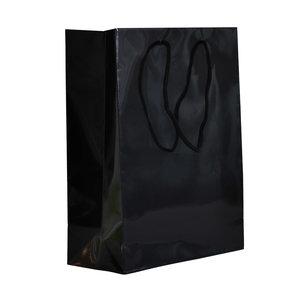 Levering uit voorraad 10x cadeautasjes Zwart A4