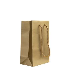 Levering uit voorraad 10x cadeautasjes Goud Extra klein