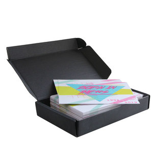 Levering uit voorraad Tijdelijk: 100x brievenbusdoos A6 Zwart
